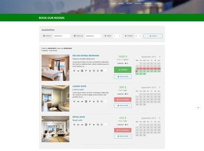 Provide web application for your Hotel/Resort management