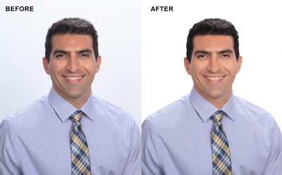 Image cut-out, background removal and color correction / 10 images