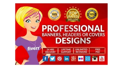 Design a cover for your website or blog