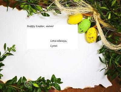 Write you a personalized season's message