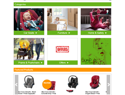 Develop full responsive Big-Commerce website