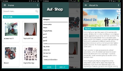 Create android  mobile application(GPS Bassed,Ecommerce,Online booking)