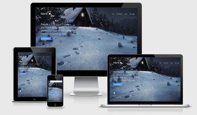 Develop a landing web page