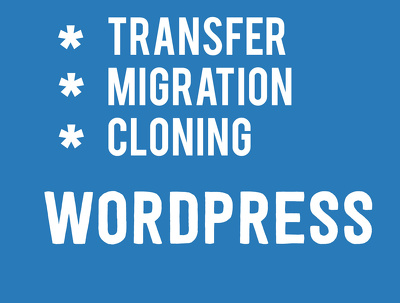 Migrate WordPress to new host or domain