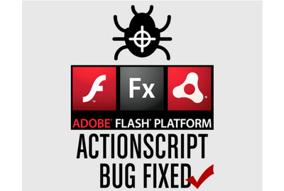 Fix a bug or error in your Actionscript code