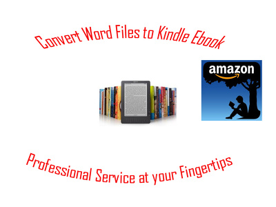 Format and convert your word file to an ebook for kindle