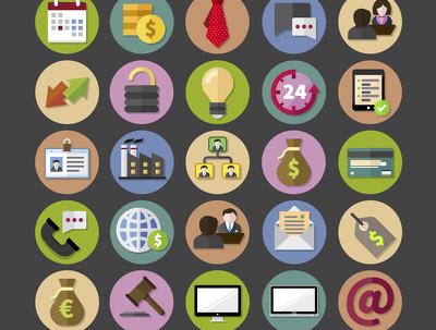 Design a impressive logo/ icons
