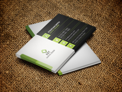 Design Professional business card in 24