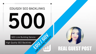 Build 500 Edu and Gov Backlinks of High Pagerank