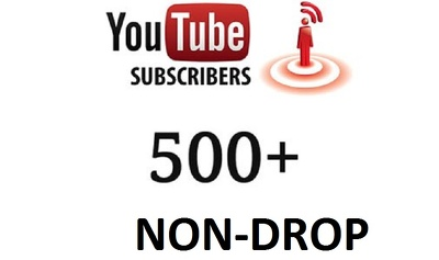 Help to increase HQ NON-DROP youtube subscribers 500