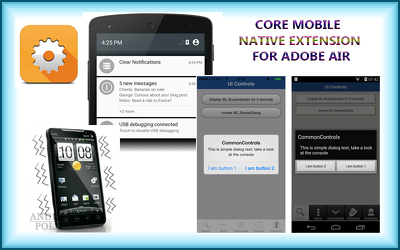 Add local notification in your adobe air app for mobiles