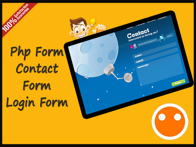 Do custom PHP Contact form or login system