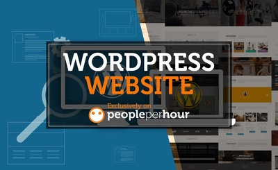 Develop a 5 page corporate looking Wordpress website