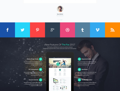 Simple 1-5 pages responsive html website + dynamic contact form
