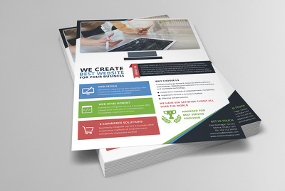 Design Eye catching Flyer, Poster, Leaflet Or Brochure