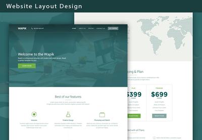 Design Website Layout