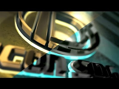 Create modern 3D logo intro or text intro full HD (1080p) + free music