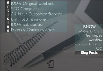 Write 500-750 words original SEO web content or blog posts on any topic