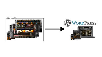 Make your PSD, HTML, or other mock ups a WordPress reality