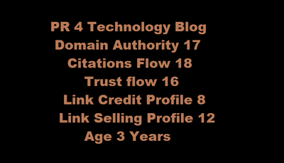 Publish your article in PR 4 and DA17 Technology Blog