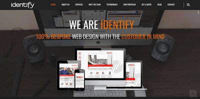Design & develop a Wordpress website