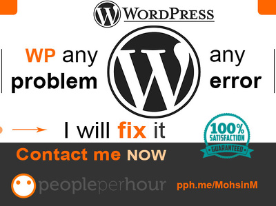 Fix or solve WordPress error / css issues and customize WordPress theme