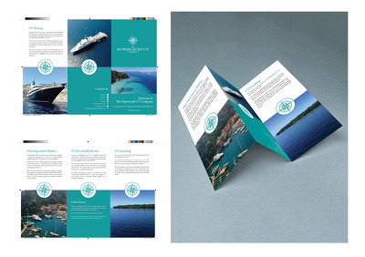 Design a 2 page A5 leaflet for your business - other options available