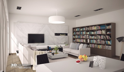 Photorealistic 3d interior rendering