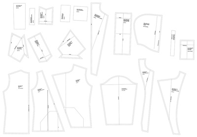 Convert your fashion garment paper patterns to CAD