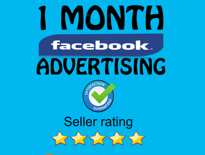 Promote and advertise your business 1 month