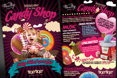Design 2 sided attractive flyer