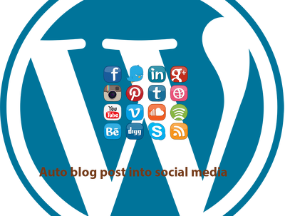 Auto WordPress blog posts into social media