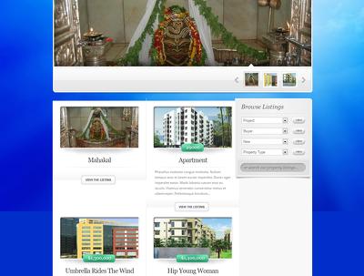 Develop a Real Estate website