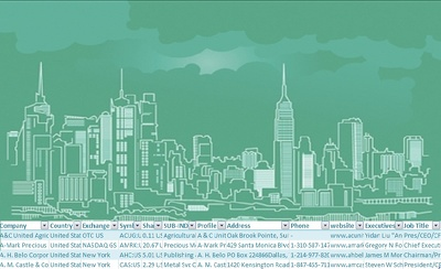 Provide all USA Publicly Quoted 8500+ companies database with contacts
