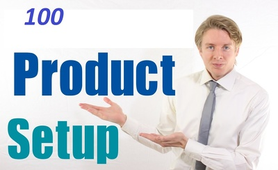 Upload 100 simple product  in any website