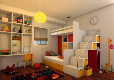 create realistic Architectural 3D visual for your project