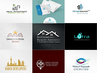 Design your logo with 6 unique concepts to choose from
