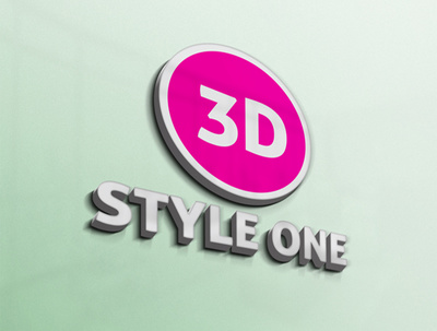 Convert 2d logo to 3d with a FREE MOCKUP (limited period offer)