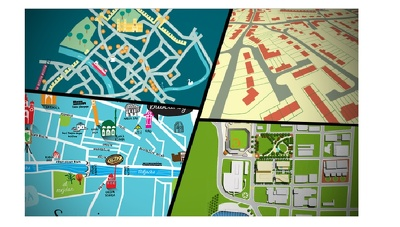 illustrate SIMPLE map illustration in adobe illustrator