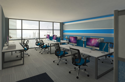 Provide A Full Interior Design Proposal For Your Office or Workplace