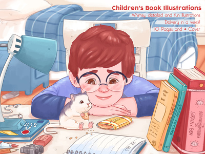 Illustrate your children's book / picture book