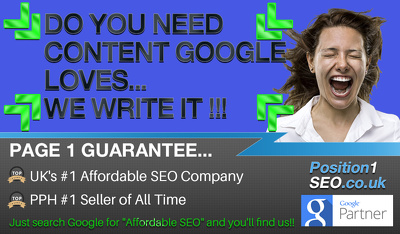 Genuine Quality SEO  ***Google Page 1 Guaranteed***  - 4 of 10 White Hat SEO Phases