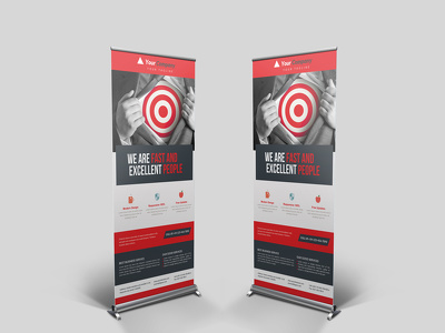 Design an awesome Roll Up,Pop Up,Retractable,Pull Up,Stand Banner