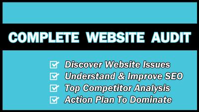 Provide in-depth website & SEO analysis to boost Google rankings