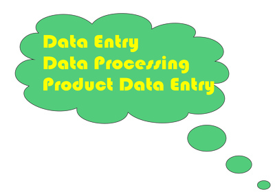 Do  Data Entry , Data Processing, Product Data Entry