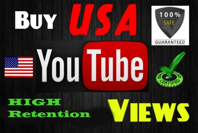 3000 YouTube USA High Retantion Safe Views + Bonus 50 Likes