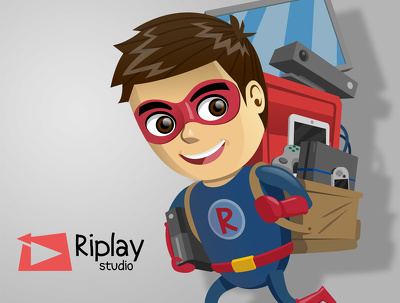 Draw vector style for mascot, character, cartoon, illustration