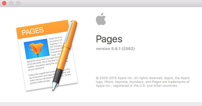 Recreate your existing document in Apple Pages (Pages for Mac) (single page document)