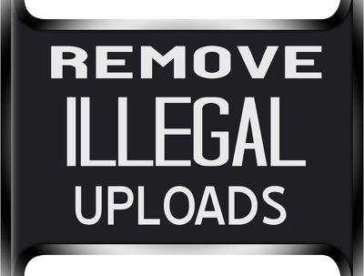 Remove & Takedown Illegal Uploads Of Your Copyrighted Material On Random Sites