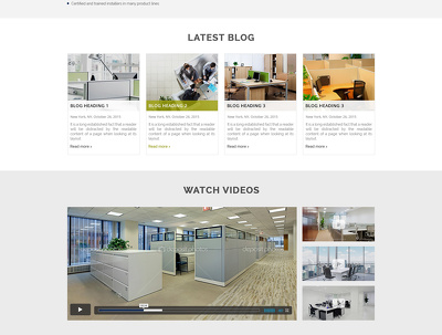 Design Awesome Website Template - 6 page [.PSD only]